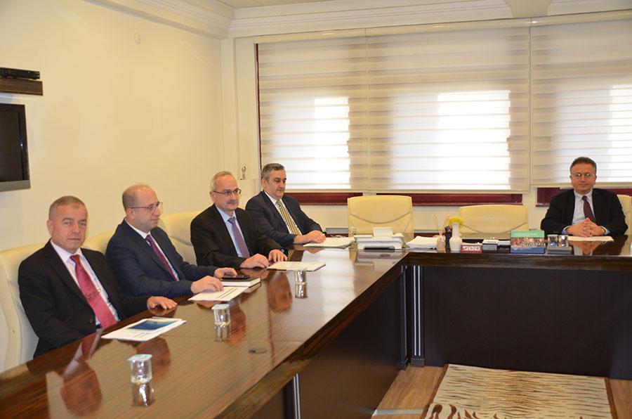 Daire Başkanları Toplantısı 29.11.2016