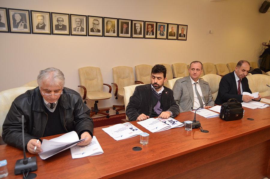 Üniversite Yönetim Kurulu Toplantısı 02.12.2016