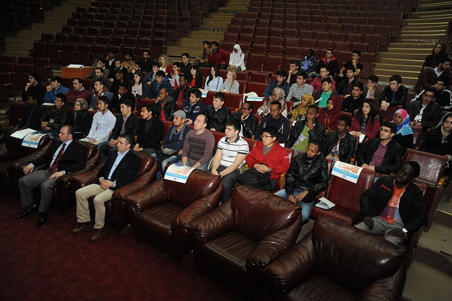 Yabancı Uyruklu Öğrenci Toplantısı
