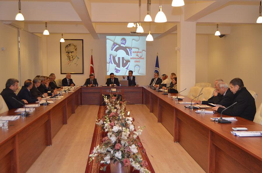 İdari Birim Yöneticileri Toplantısı 02.12.2016