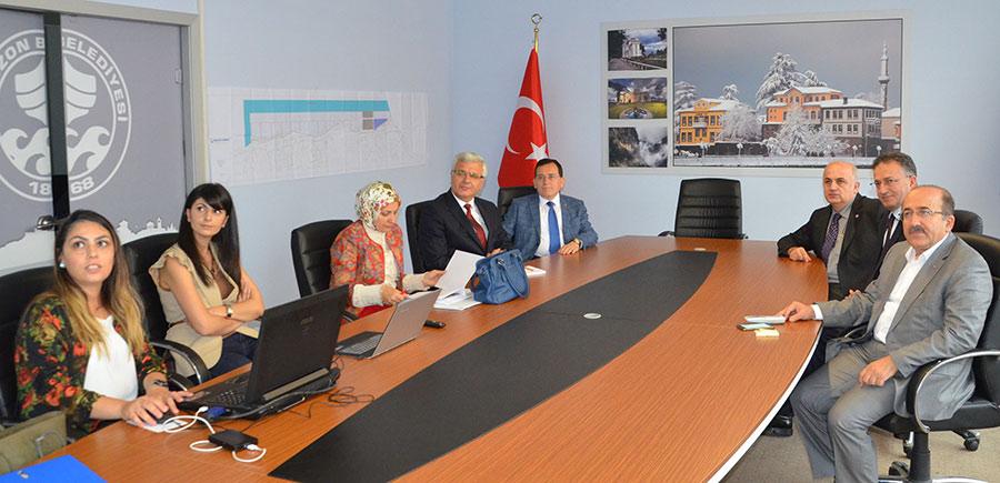 Trabzon Büyükşehir Belediyesi Toplantısı