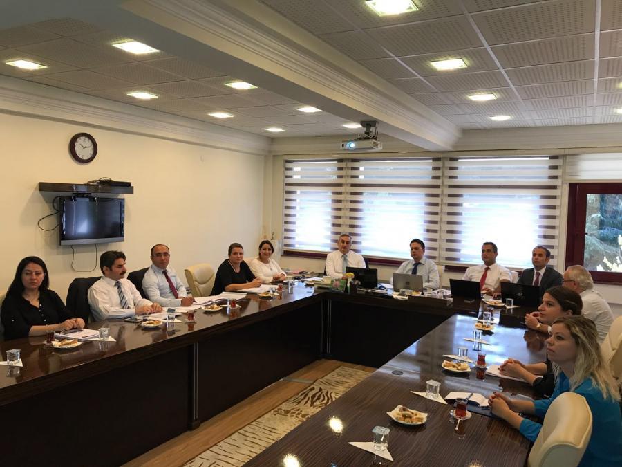 Kalkýnma Bakanlýðý yetkilileri ile Stratejik Planlama Destek Ekibi iki gün süren çalýþtayda bir araya geldi. (28.9.2017)